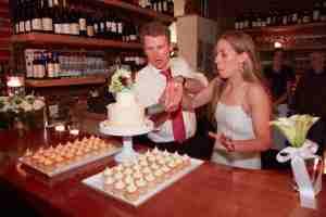 Wedding cake time....